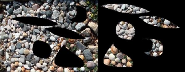 Jugant amb pedres